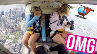 PRIVATE HELICOPTER TOUR OVER NYC!!
