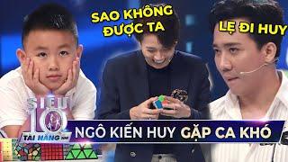 Siêu Nhí Rubik liên tục phá kỷ lục khiến Ngô Kiến Huy XẤU HỔ không biết trốn đi đâu | STNN Tập 7
