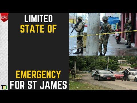 ST JAMES under STATE OF EMERGENCY  - Teach Dem