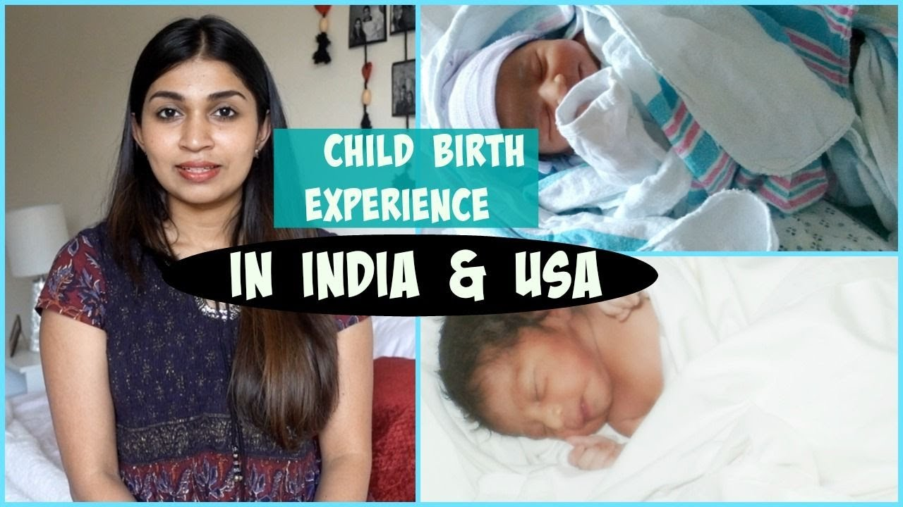 My Birth Stories/Normal Delivery story/Labour and Delivery(India & USA)