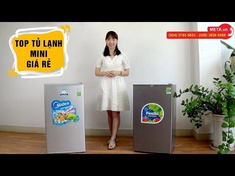 Top tủ lạnh mini giá rẻ dành cho sinh viên, phòng trọ, phòng khách sạn