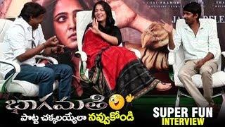Bhaagamathie Movie Team SUPER FUN Interview | Anushka Shetty | Dhanraj | Prabhas Sreenu