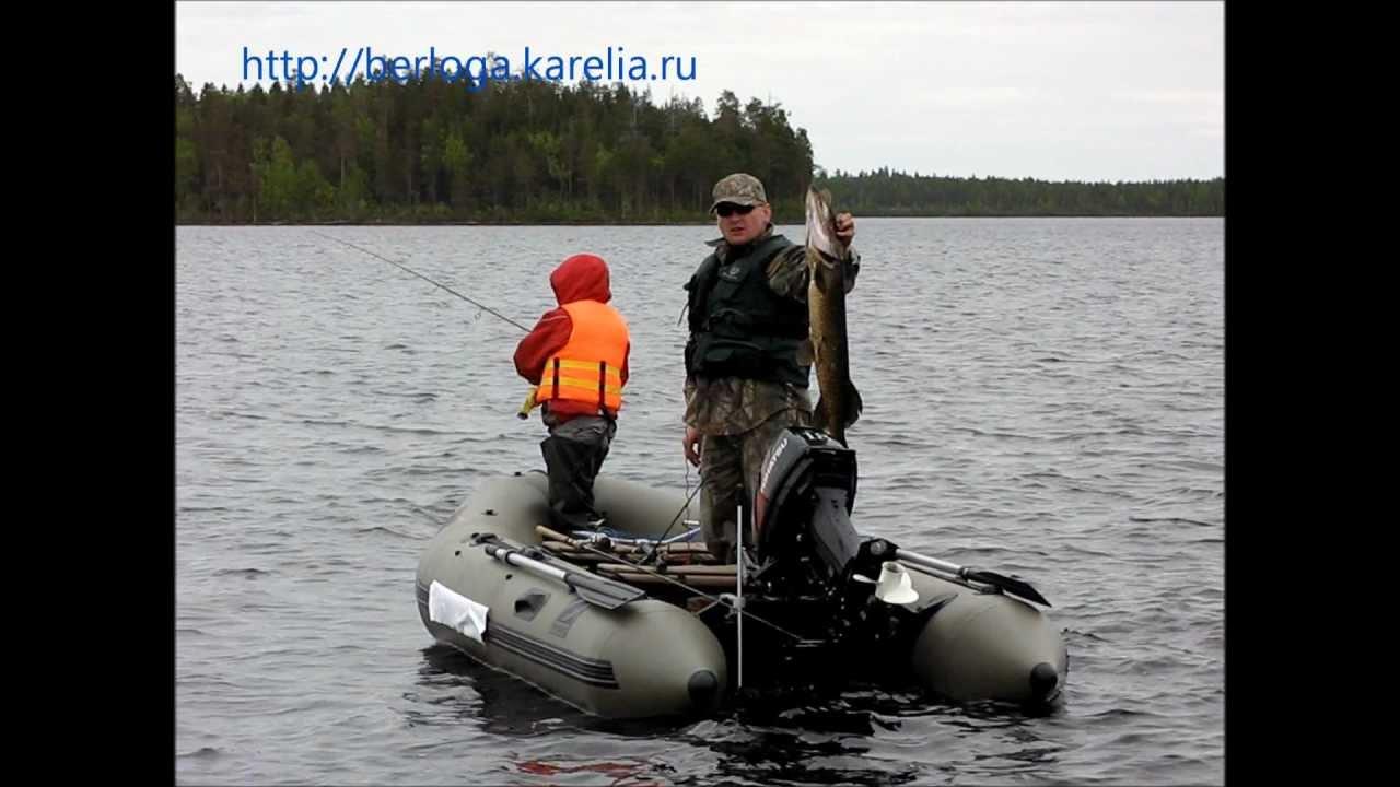 видео с рыбалок в карелии