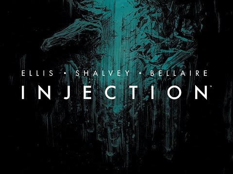 INJECTION #1 TALK WITH WARREN ELLIS, DECLAN SHALVEY & JORDIE BELLAIRE