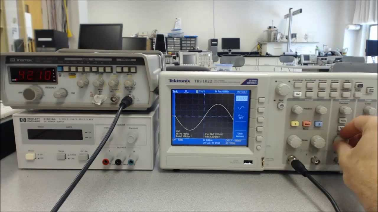 Function Generator And Oscilloscope : Function generator and oscilloscope doovi