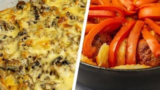 Два вкусных рецепта из картошки для обеда или ужина
