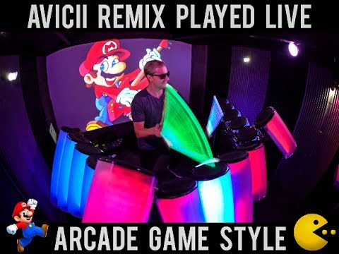 Cover Lagu Avicii - Without You (AFISHAL Remix) ARCADE GAME STYLE STAFABAND