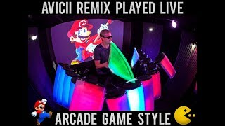 RIP ❤   Avicii - Without You (AFISHAL Remix) - ARCADE GAME STYLE AV...
