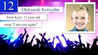 OLEKSANDR KOTSIUBA - I PLACE - 2220 INTERNATIONAL MUSIC FESTIVAL, KYIV, 2019