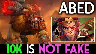 ABED Dota 2 [Earthshaker] 10k is not FAKE - QO rage quit