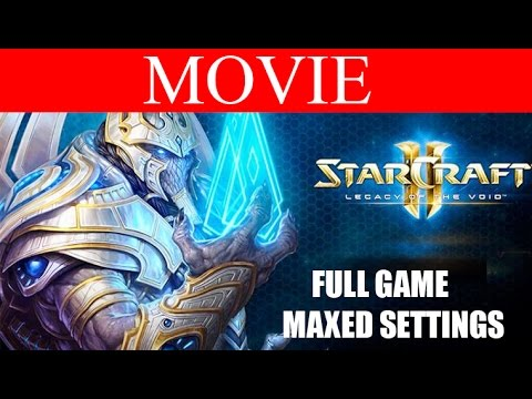 StarCraft 2 Legacy of the Void Full Movie - All Cutscenes and Cinematics HD Ultra Gameplay 1080p