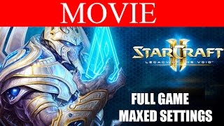 StarCraft 2 Legacy of the Void Full Movie - All Cutscenes and Cinematics HD Ultra Gameplay