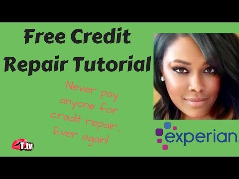 Credit Repair Tutorial