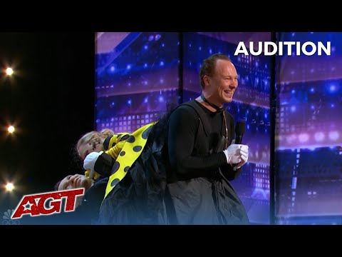 OOPS! When Your Wife and Dance Partner Doesn't Show Up To Her Audition on America's Got Talent!!!