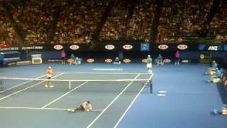 Nadal Federer and Djokovic Comedy