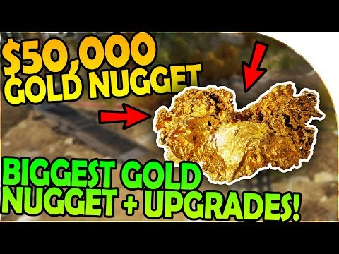 $50,000 GOLD NUGGET IS OURS! - BIGGEST GOLD NUGGET FOUND + MINE UPGRADE- Gold Rush The Game Gameplay