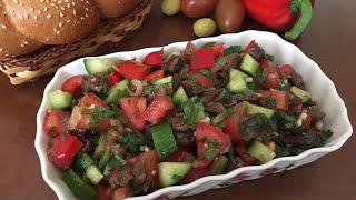 Mayonezsiz yengil salat/ Лёгкий салат без майонеза