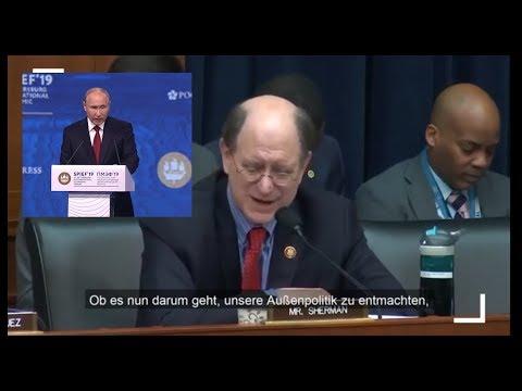 Wirtschaftsforum 2019: Putins Rede lassen in Washington die Alarmglocken klingeln