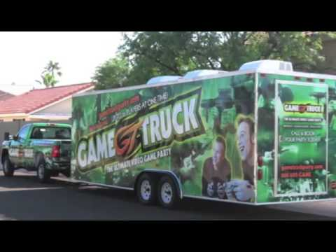 What To Expect For Your GameTruck Party