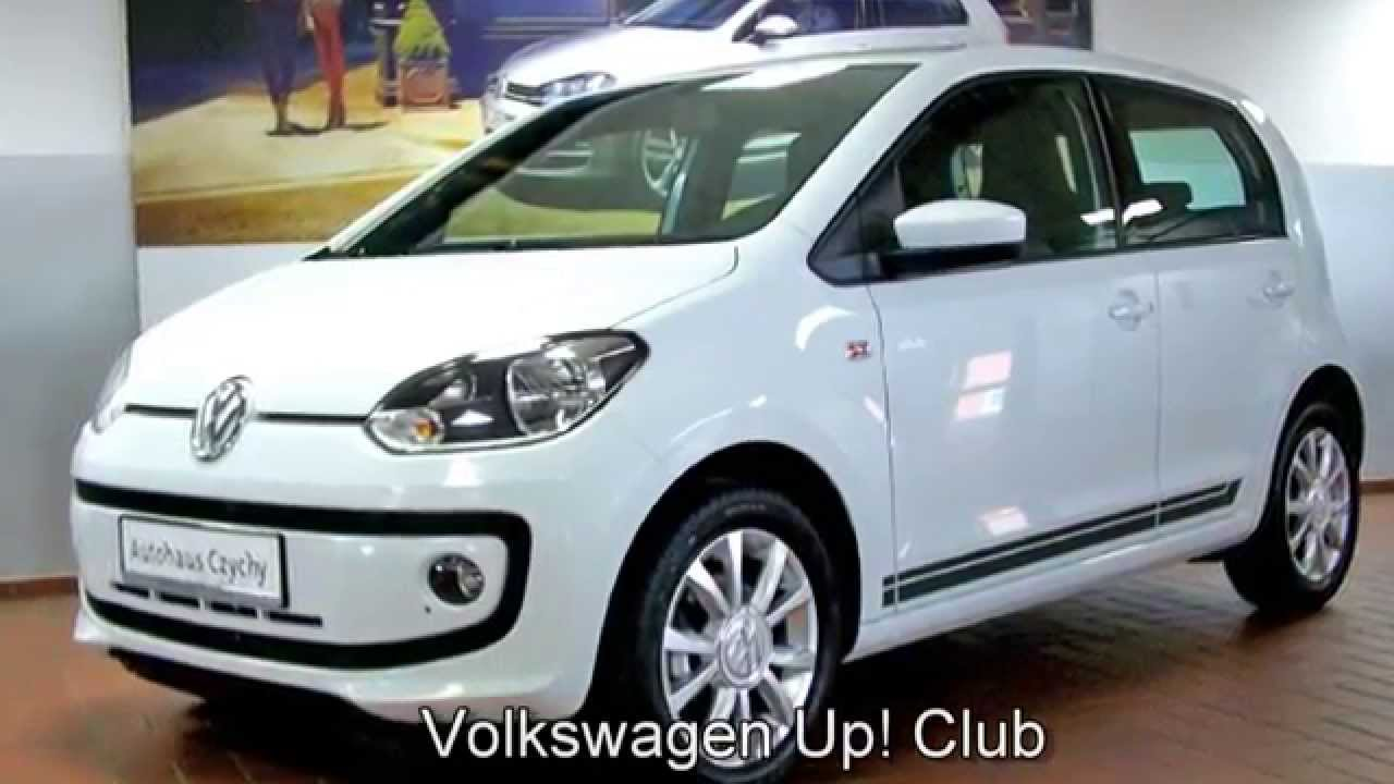 volkswagen up club up fd097562 pure white autohaus czychy youtube. Black Bedroom Furniture Sets. Home Design Ideas