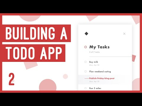 How To Build A Todo App With HTML, CSS And JS | Anime.js Web Development Tutorial