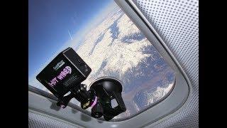飛行機の窓からの景色 ミュンヘン-アンコナ LUFTHANSA CRJ900  4Kタイムラプス