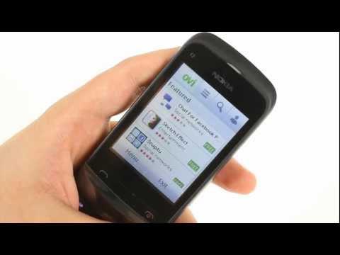 Nokia C2-02 user interface demo