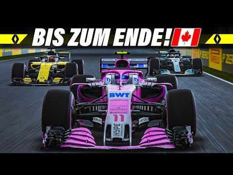 F1 2018 KARRIERE S02E07 – Starker Regen in Kanada! | Let's Play Formel 1 Deutsch Gameplay German