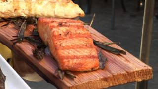 How To Grill Fish Filets On Cedar Planks - With Chef Romy Prasad