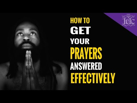 Derek Prince, How to get your prayers answered