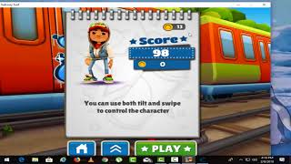 How to hack subway surfers on pc 100%