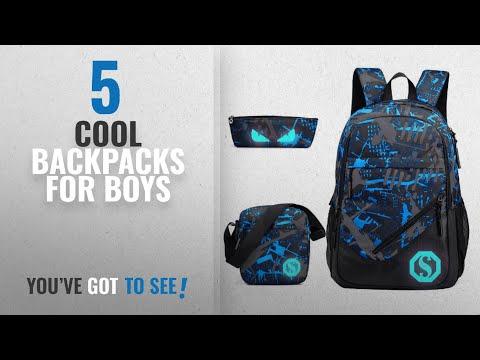 3c303889d386 Cool Backpacks For Boys [2018 Best Sellers]: JiaYou Boy 20L Fashion ...