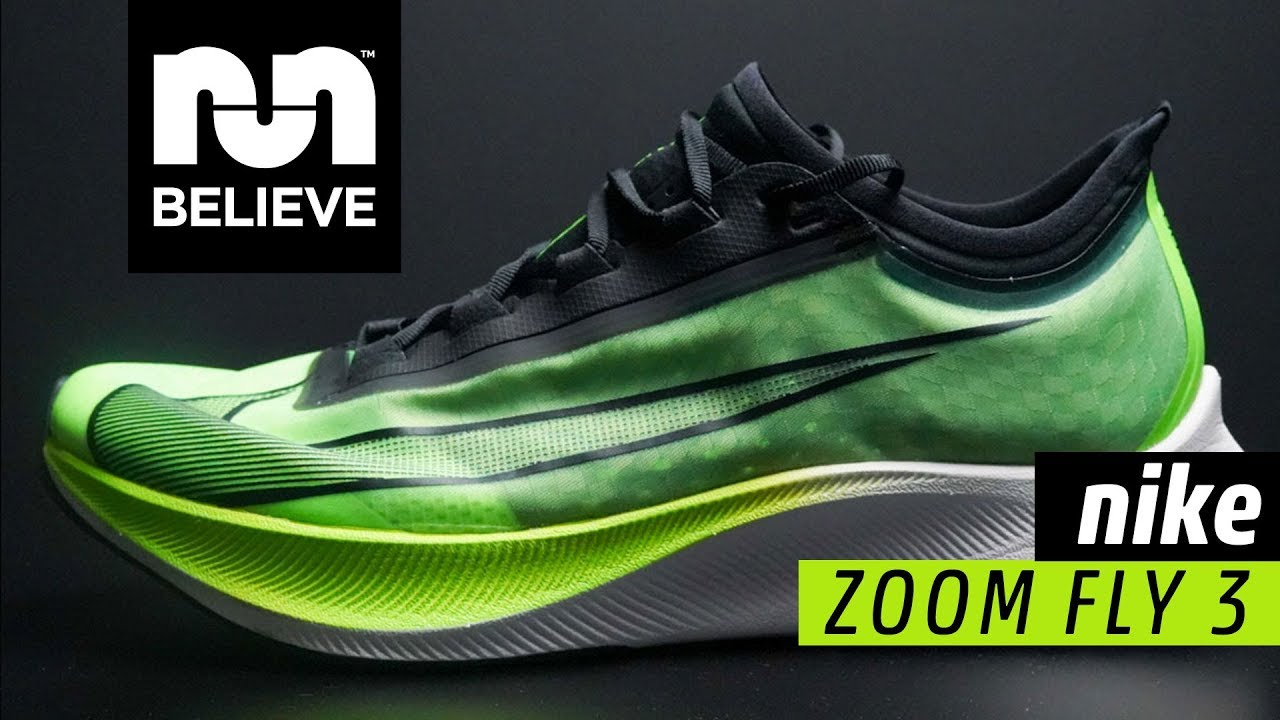 Nike Zoom Grey And Green Nike Zoom Fly 3 Performance Review Believe In The Run