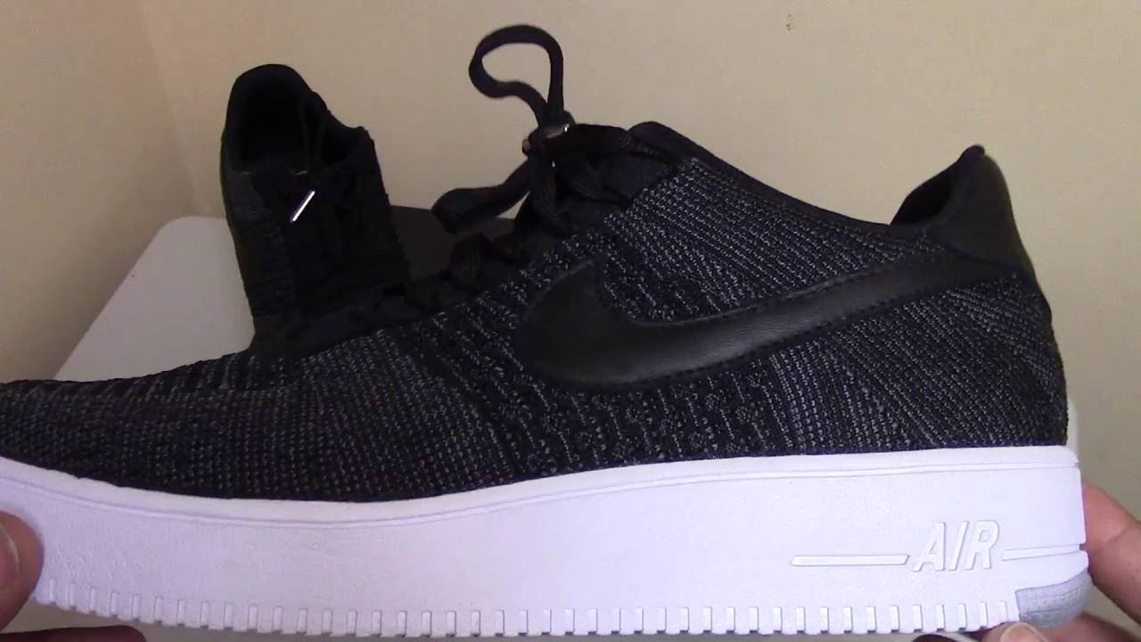 nike air force 1 flyknit low w