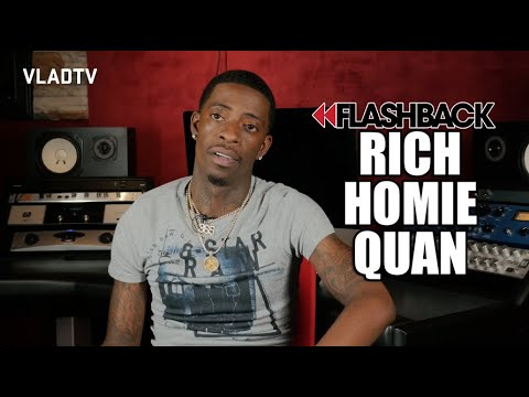 Rich Homie Quan On Falling Out With Young Thug (Flashback)