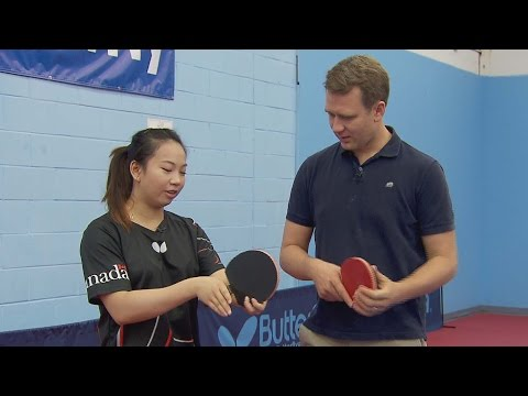 Meet one of Canada's top table tennis players