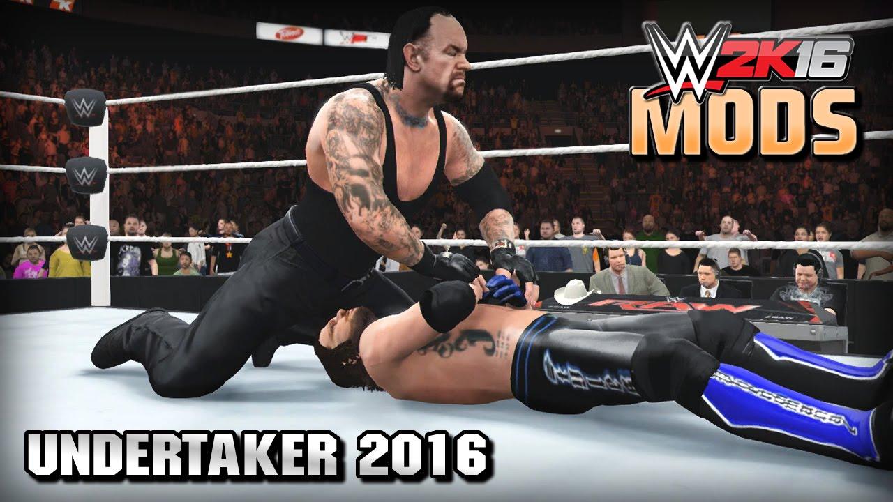 WWE 2K16 Mods The Undertaker 2016 Mod Long Hair Return