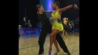 Танго/ Конкурс бально-спортивных танцев/ Юниоры