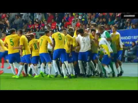 Chile Vs Brazil (0-5) Goals & Highlights  HD  2017 South American Under 17 Championship