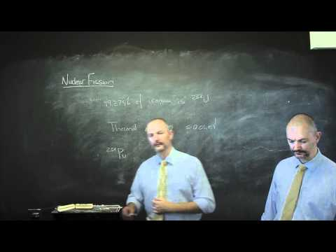 Nuclear and Particle Physics A4 Nuclear Fission and Reactors