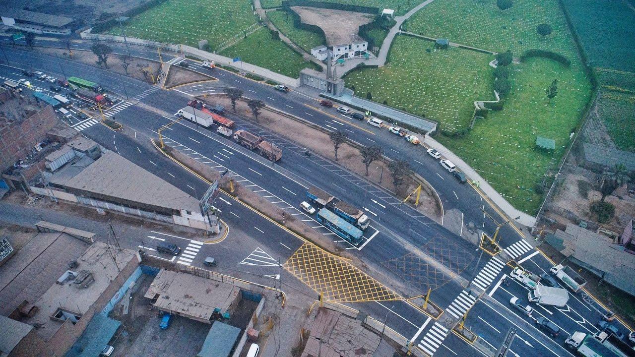 Entregamos dos intercambios viales en la Panamericana Norte