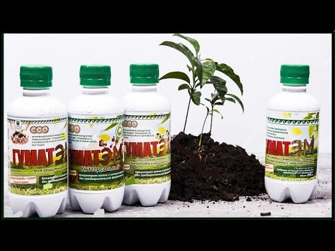 """Биоудобрение """"ГуматЭМ"""" для корневой подкормки, идеальное питание для растений"""