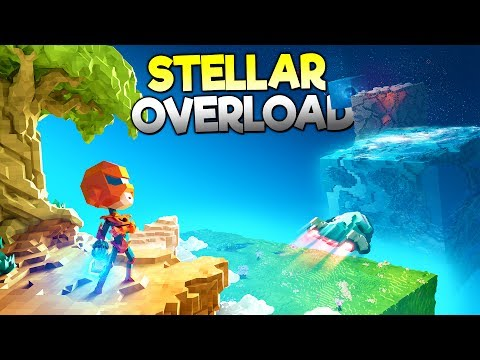EXPLORE & BUILD AN ENTIRE WORLD! Epic Space Adventure - Stellar Overload Early Access Gameplay!