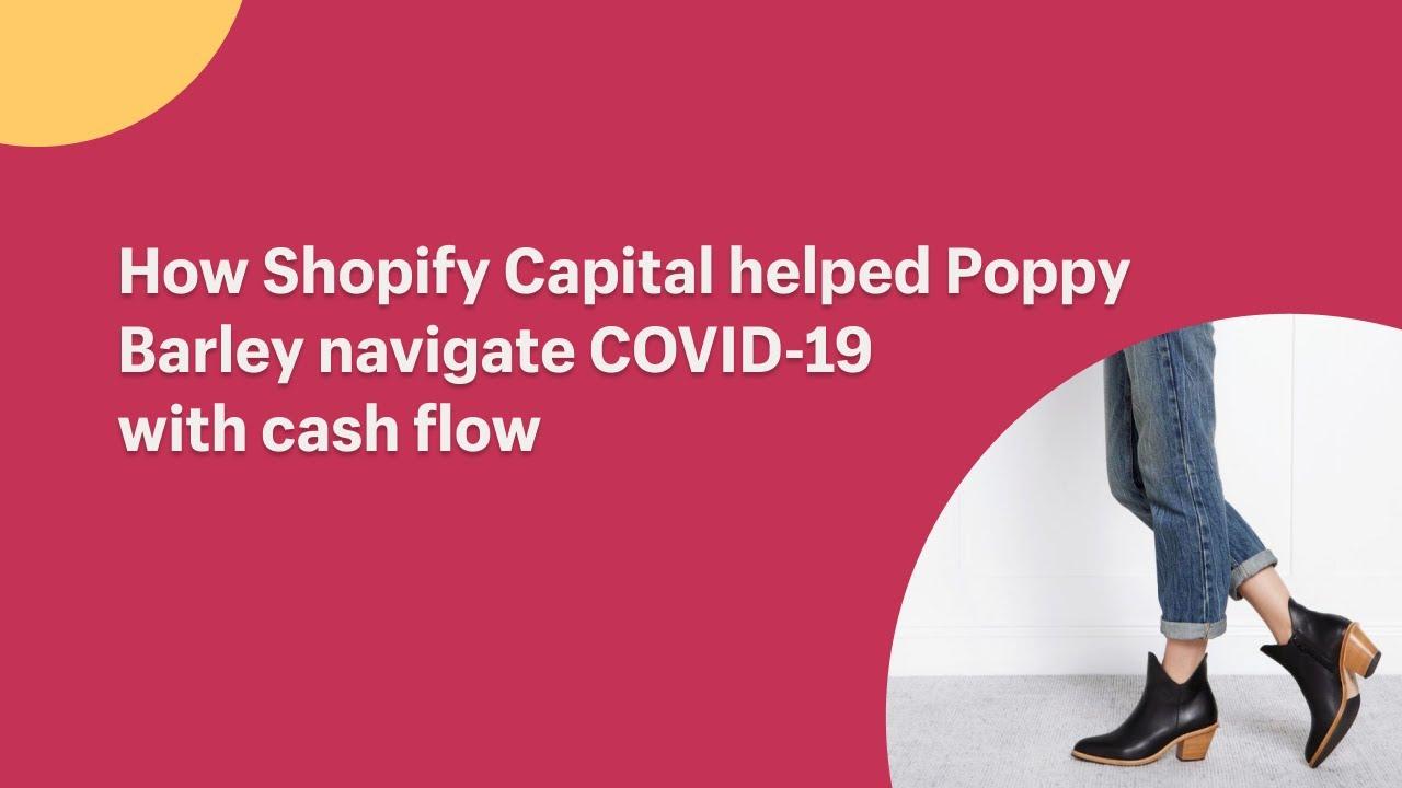How Shopify Capital helped Poppy Barley navigate COVID-19