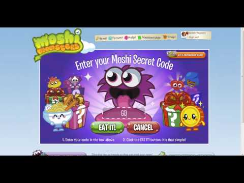 Códigos Moshi Monsters Travel Video
