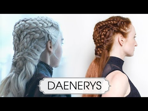 Game of Thrones Daenerys Hair Tutorial - Conquering Dragon Queen Finale Style thumbnail