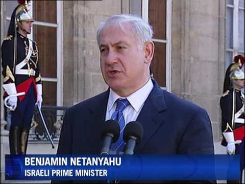 Israel's Netanyahu Meets Sarkozy In Paris