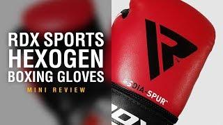 RDX Sports F8 Hexogen Boxing Gloves - Fight Gear Focus Mini Review