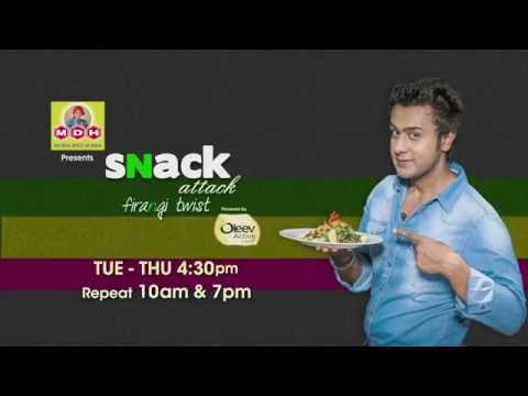 Snack Attack Firangi Twist - Independence Day Special Recipes