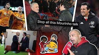 Arsenal Fans CLASH On Potential Jose Mourinho Appointment! | Wat U Sayin! Ft Lumos & Bhav